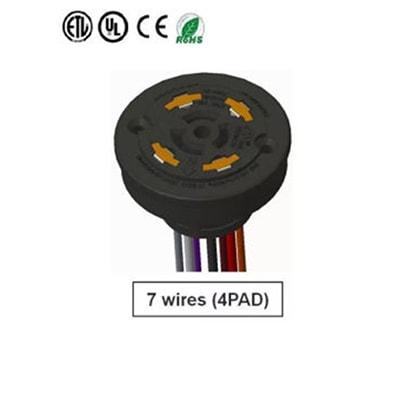 7 Pin Receptical